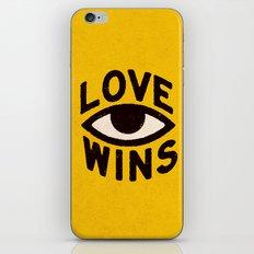 Love Wins iPhone & iPod Skin