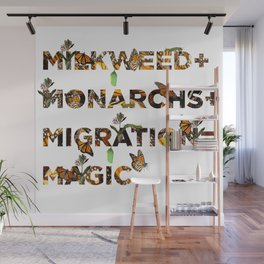 Monarch Magic Wall Mural