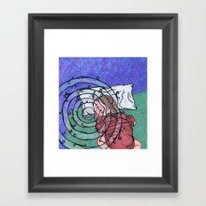 Hypnopaedia Framed Art Print