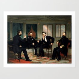 The Peacemakers -- Civil War Union Leaders Art Print
