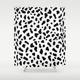 Cow Pattern Shower Curtain