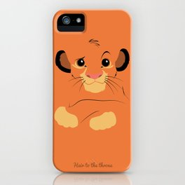 Heir to the throne iPhone Case