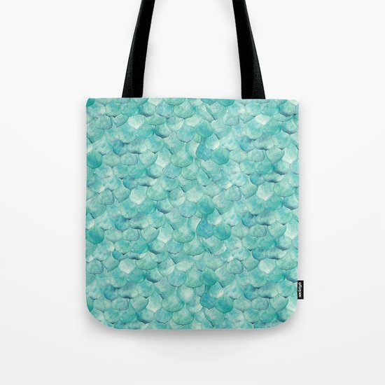 Succulent Leaves Tote Bag