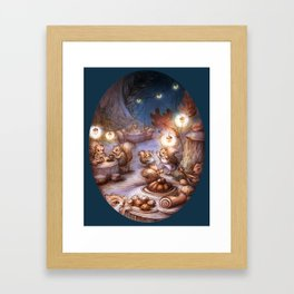 The Acorn Festival Framed Art Print