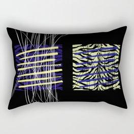 Tiger In The Underbrush Rectangular Pillow