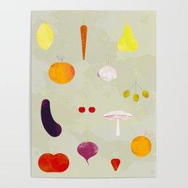 Fruit Medley Poster