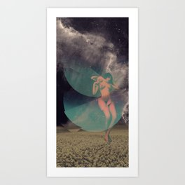 STELLAR WOMAN 006 Art Print