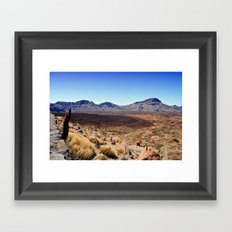 Teide National Park Framed Art Print