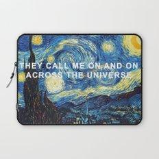 Starry Night Across the Universe Laptop Sleeve
