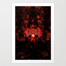 DOOM5-GAMEFONT Art Print