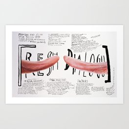 Fresh Dialogue Art Print