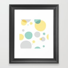 summer pattern Framed Art Print