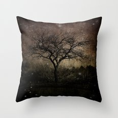 Lights in the Dark Throw Pillow