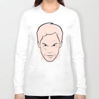 dexter Long Sleeve T-shirts featuring Dexter Morgan - Dexter by Federico Detor Simoni