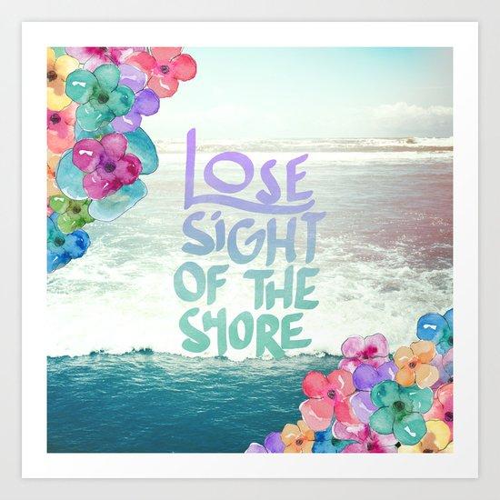 The Shore Art Print