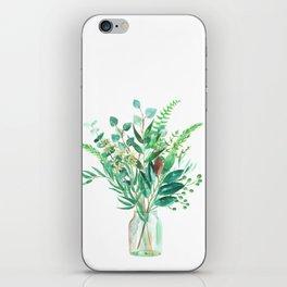 greenery in the jar iPhone Skin