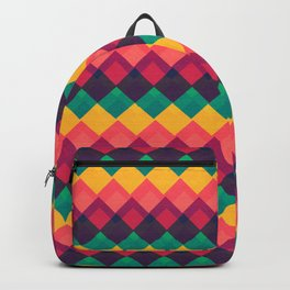 Happy Day Pattern Backpack