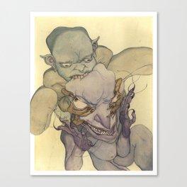 Demons Eating Demons Canvas Print