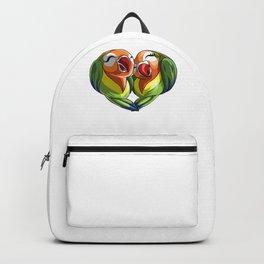 Lovebirds Valentines Backpack