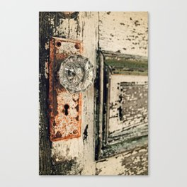 Waterford Door Canvas Print