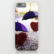 Three Lonely Hearts In the Rain Slim Case iPhone 6s