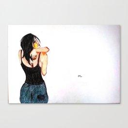 Itch Canvas Print