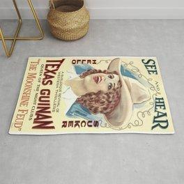 Vintage poster - The Moonshine Feud Rug