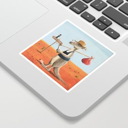 The Traveller Sticker