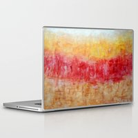 the strokes Laptop & iPad Skins featuring Strokes by Bonnie J. Breedlove