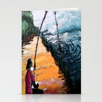 fishing Stationery Cards featuring FISHING by aztosaha