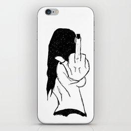 F**k off iPhone Skin