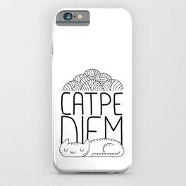 CATPE DIEM iPhone Case