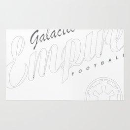 Galactic Empire Football T-Shirt Rug