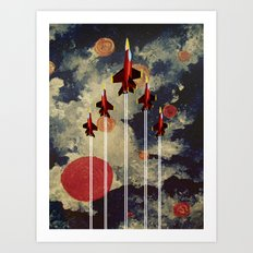 FIVE MAN ARMY Art Print