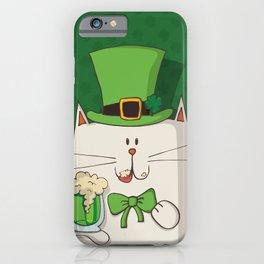 Irish cat iPhone Case
