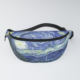 Starry Night by Vincent van Gogh - Vintage Painting Fanny Pack