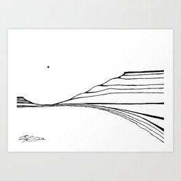 Landscape 110513 Art Print