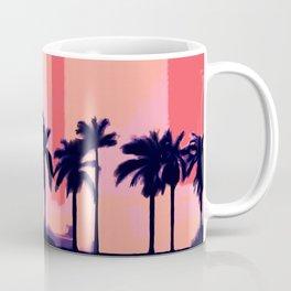 Sunset Time in Miami Coffee Mug