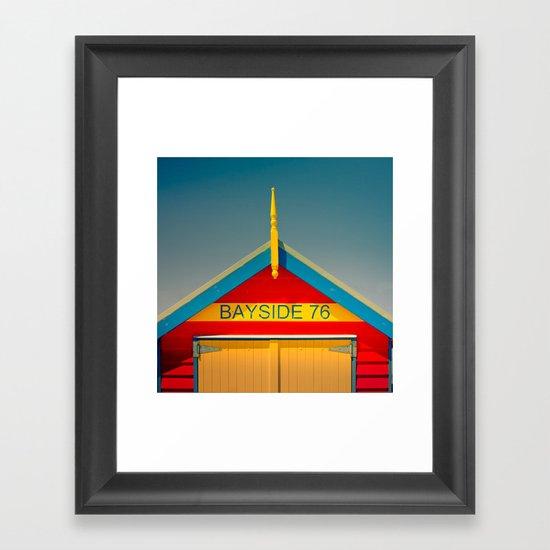 Primary Colours Framed Art Print