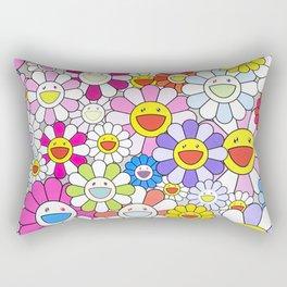 mukarami flowers Rectangular Pillow