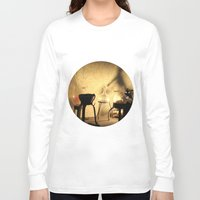 lab Long Sleeve T-shirts featuring the lab by XfantasyArt