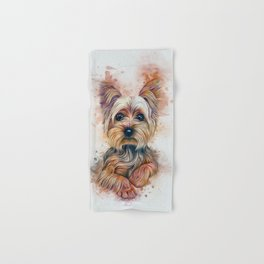 Yorkshire Terrier Hand & Bath Towel