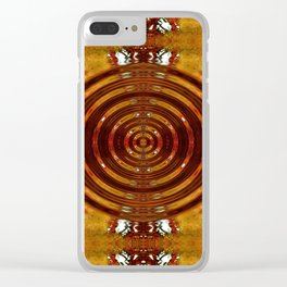 Vibration: The Third Hermetic Principal Clear iPhone Case
