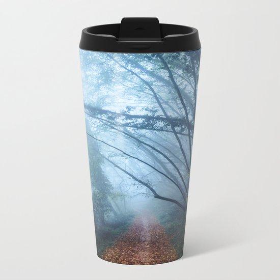 The Forest Beckons Metal Travel Mug