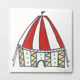 Its A Circus Colored Print Metal Print