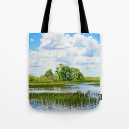 Everglades Reflections Tote Bag