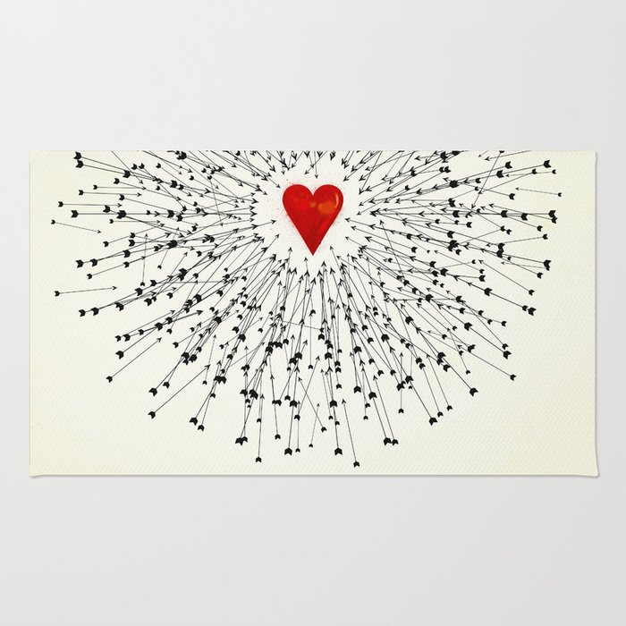 Heart&Arrows Rug