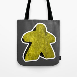 Giant Yellow Meeple Tote Bag