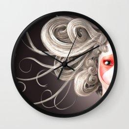 Japanese fashion model Wall Clock