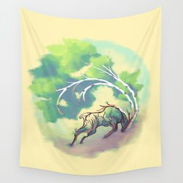 Essence of Nature - Thunderous Wind Wall Tapestry